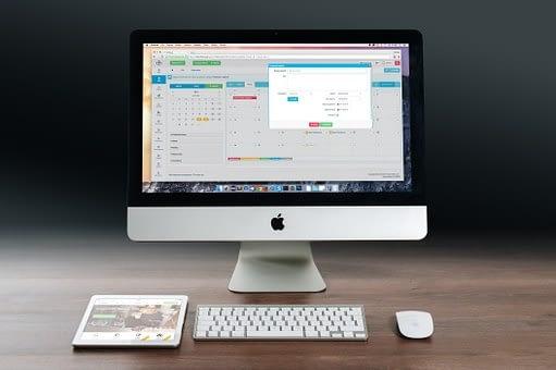 Mac PC and an iPad