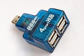 USB port hubs