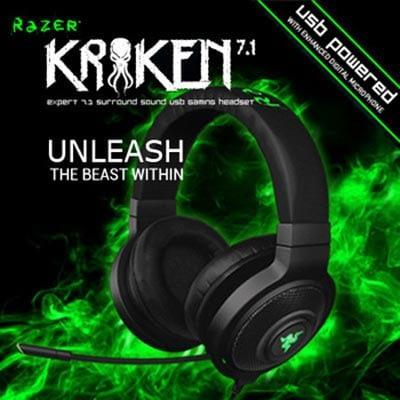 Razer Kraken ads