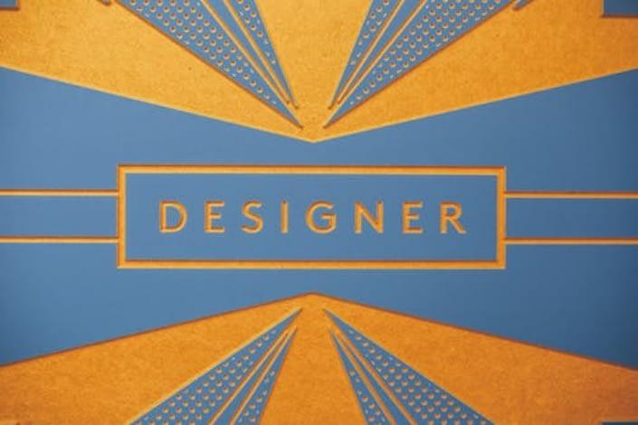 a designer logi